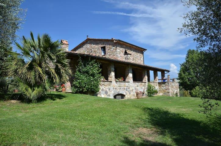 """PODERE """"LO STOLLO""""  (Stollo 2) Sassetta - Toscana - Sassetta - House"""