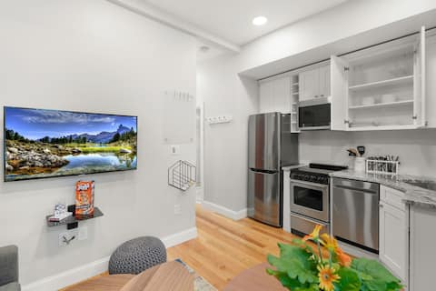 North End- Newly Renovated, Prof. Clean, 1bd Apt