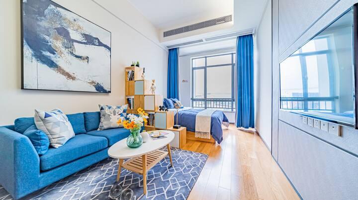 广州天河客运站豪华复式公寓整租