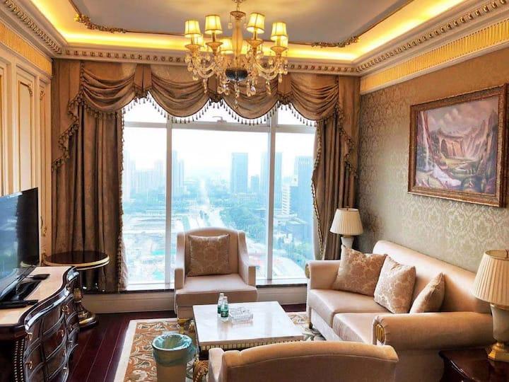 【云宿】金石国际公寓、经典西班牙欧式装修、近中南CBD、南通大学