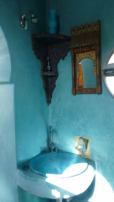 salle d'eau en tadelackt….