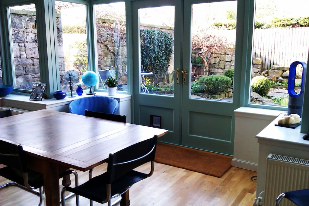 lovely conservatory to sit and have breakfast in!