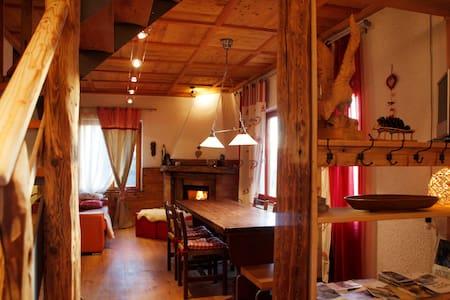 Chalet Baita Marimonti in Trentino - Lagolo - Blockhütte