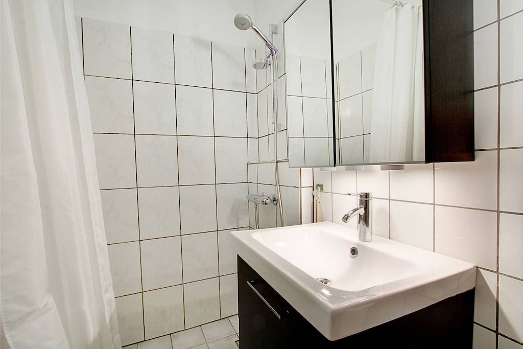 Nice bathroom with separate shower