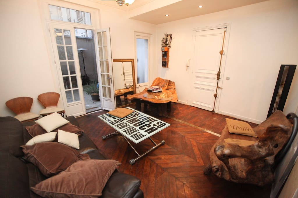 Appartement montmartre avec jardin apartments for rent for Restaurant ile de france avec jardin