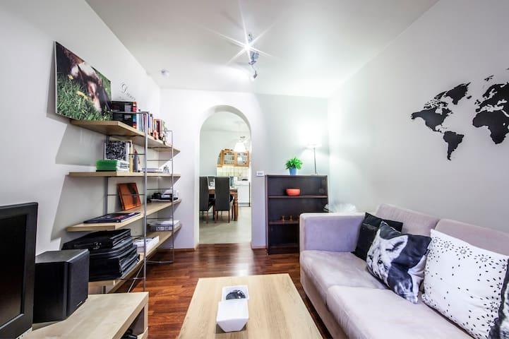 Best price apt.with 2 bedroom+livingr.with 2 beds. - Reykjavik - Apartment