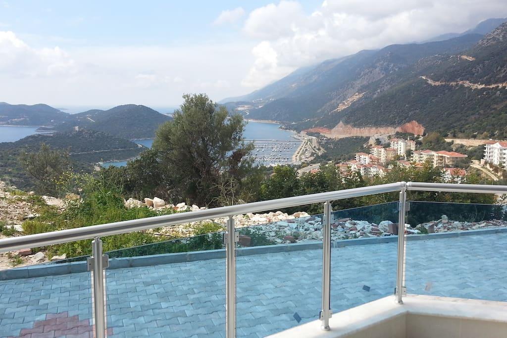 Bedroom balcony sight