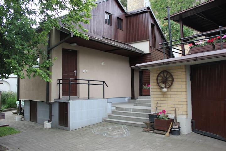 Vilnius oldtown small house