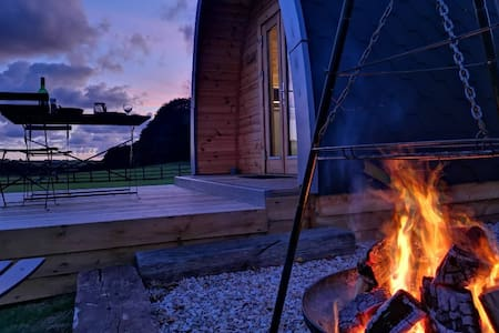 Luxury glamping pod in beautiful Cornwall