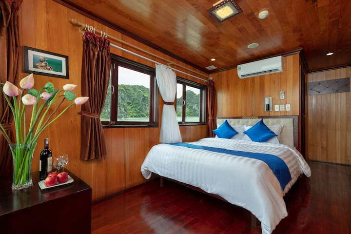 Tranquil cabin *** relaxing in Halong Bay 2d1n
