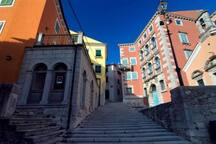 Labin old town