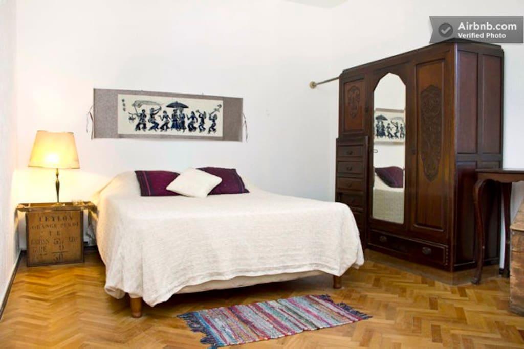 the double room / la habitacion doble