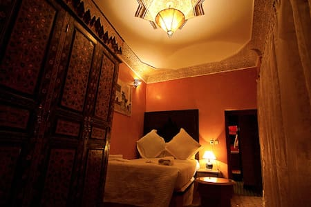Double bed, Riad Layalina Fes - Fès