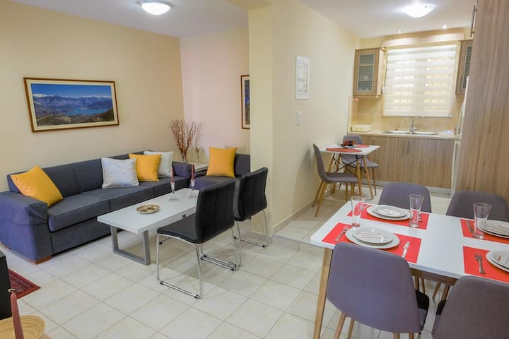 Comfortable apartment in the town of Gythion