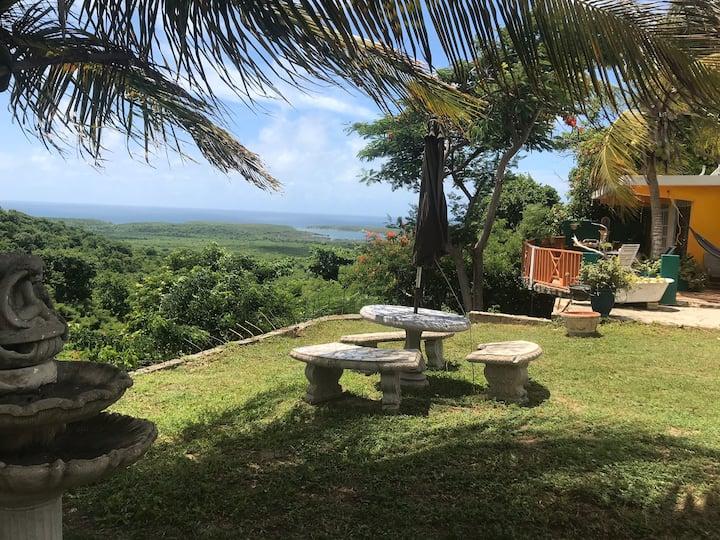 10 acre -Hillside Villa overlooking Fish/Wildlife