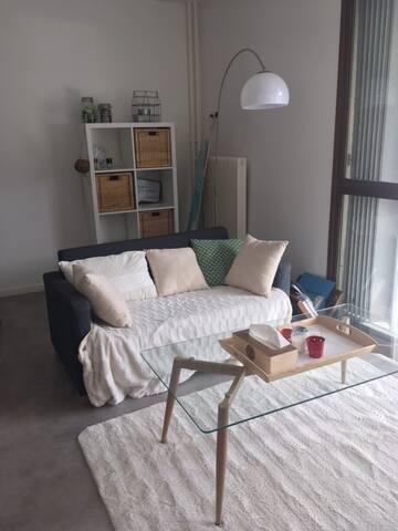 Appartement proche du centre ville avec balcon