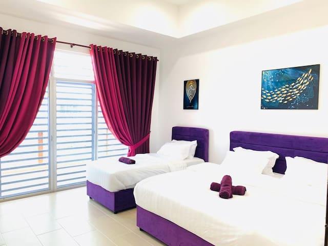 Studio K [Easy Self Check In] 2 Storey Terengganu