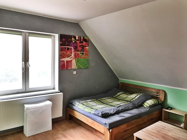 Extensive room with lovely interior - Poznań