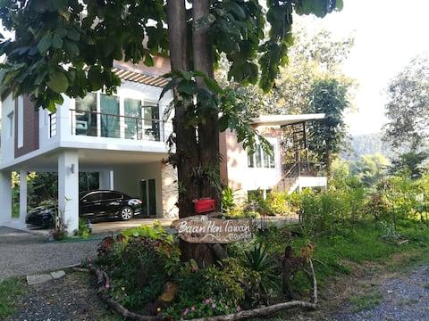 Baan Hen Tawan (บ้านเห็นตะวัน@น้ำพุร้อนดอยสะเก็ด)