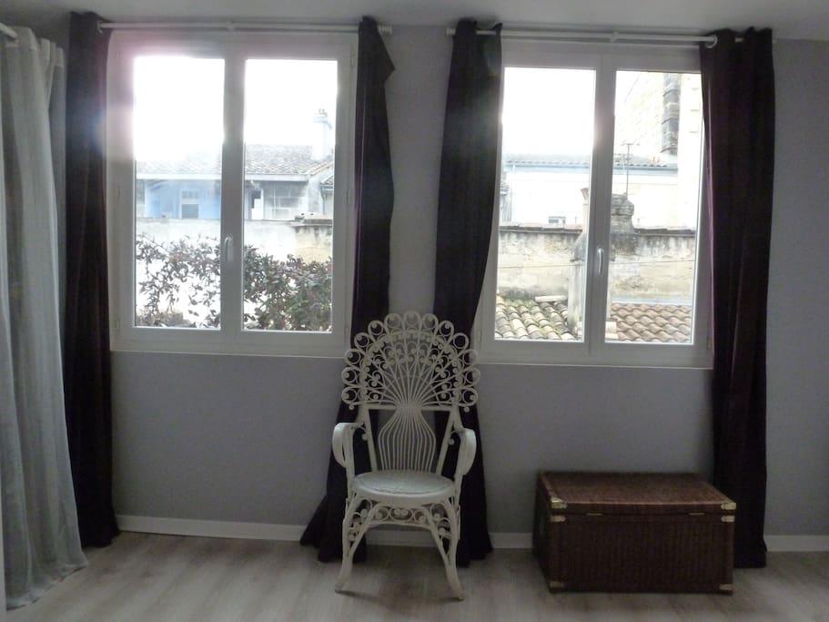Chambre 1, lumineuse et calme