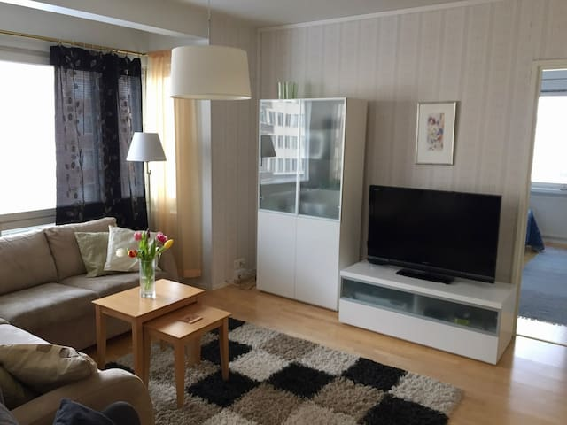 Cosy apartment in the heart of the city. - Jyväskylä - Wohnung