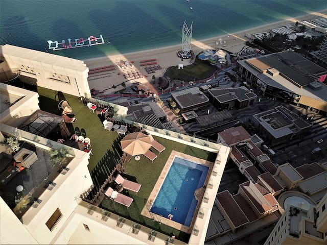 Jbr Dubai Amazing huge  penthouse in Rimal 5