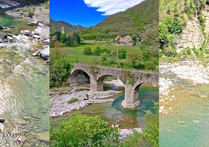 Dimezzo:alloggio in Santerno valley - Firenzuola - Daire