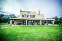 Elegante villa tra i boschi in Sardegna