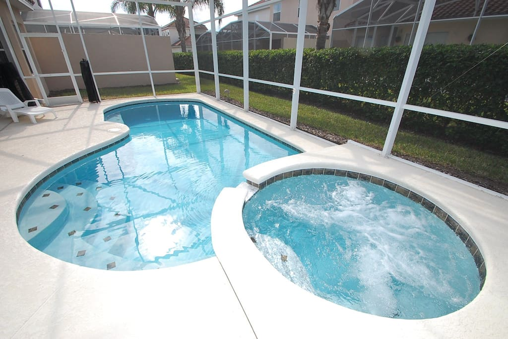 Jacuzzi, Tub, Pool, Water, Gazebo