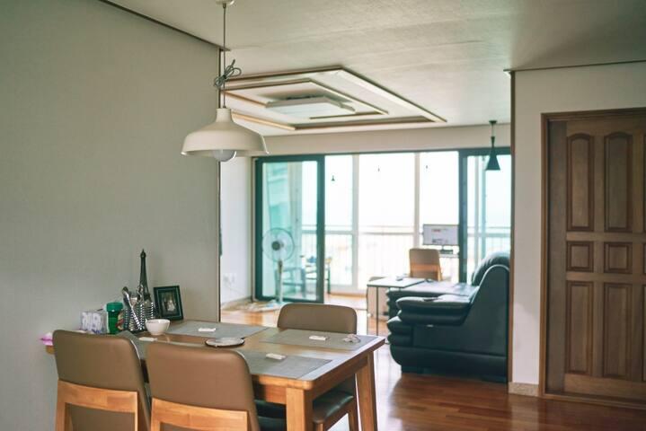 바다뷰가 이쁜 하우스 - Jeju-si - Apartamento