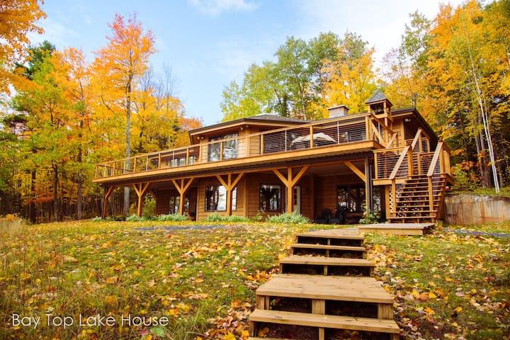 Bay Top Lake House Spacious Lakeshore Home