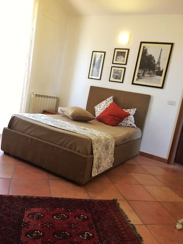 Apartment in the villa in front of Tyrrhenian Sea