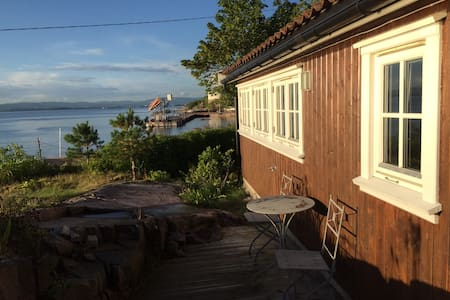 La Sirena and the fisherman's lodge - Nesodden