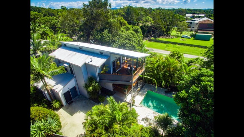 Luxurious Oasis Across The Road From The Beach