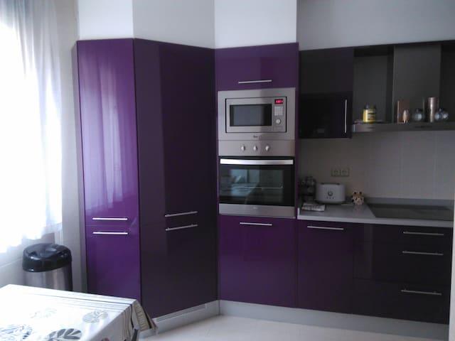 Piso como nuevo con 3 habitaciones y 2 camas - Vilagarcía de Arousa - Apartamento