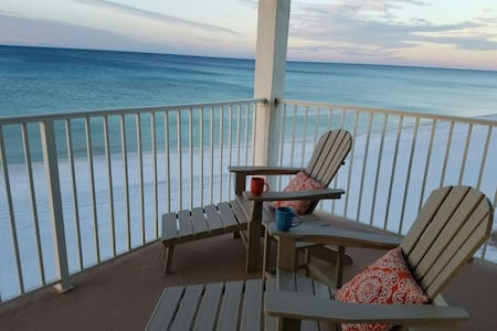 Beachfront Balcony 30A Queen+2 twin - Santa Rosa Beach