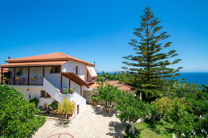 Alavastros Villa A Near 3 Sandy Beaches