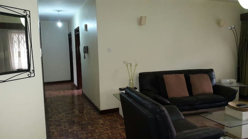 Lovely, homely and spacious apartment. - Nairobi - Leilighet