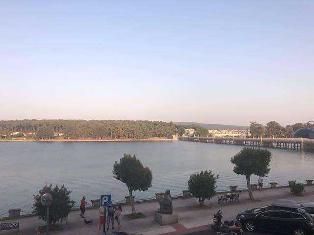 Vistas al mar y a la Toja, terraza 100m2 y piscina