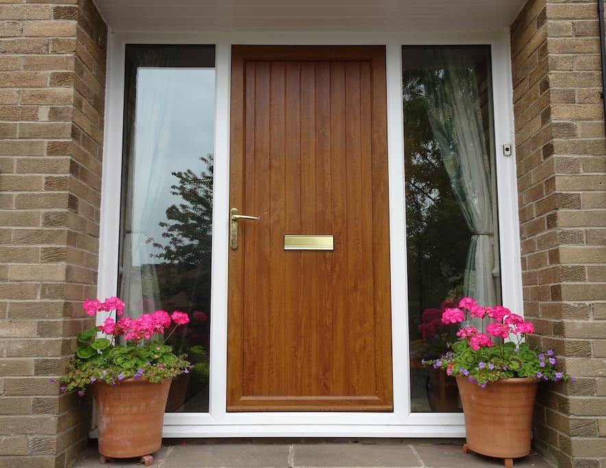 The front door into your cosy retreat