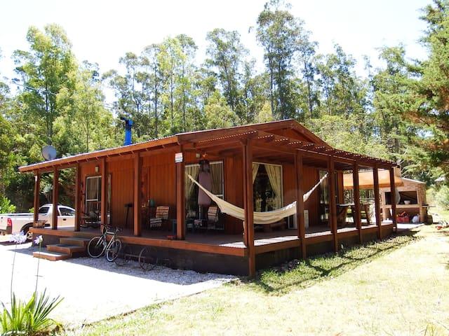 Excepcional Cabaña En Bella Vista - Bella Vista - Houten huisje
