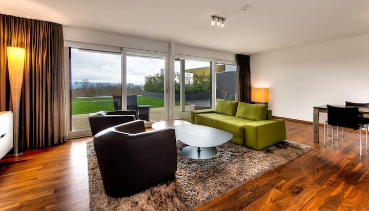 Luxus-Wohnung mit Panoramablick