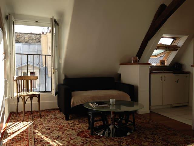 Charmant studio au coeur de Paris