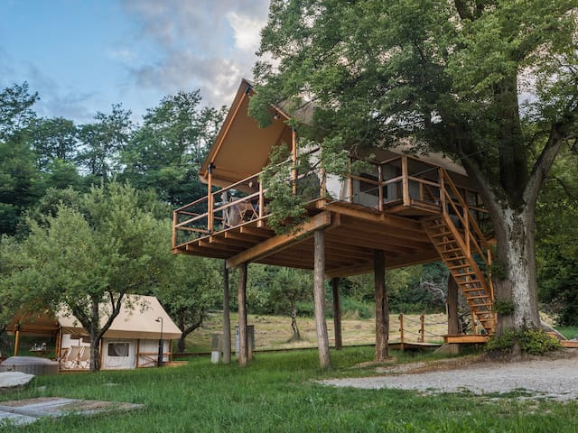 DREAMY TREE HOUSE Chateau Ramsak