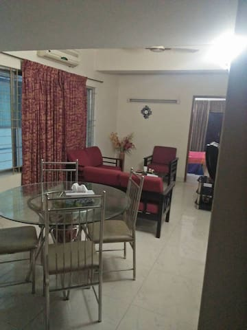 1 Bed room fully furnished apt. at Banani Dohs