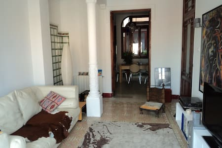 Valencia dble room - spacious house - Godella - Huis