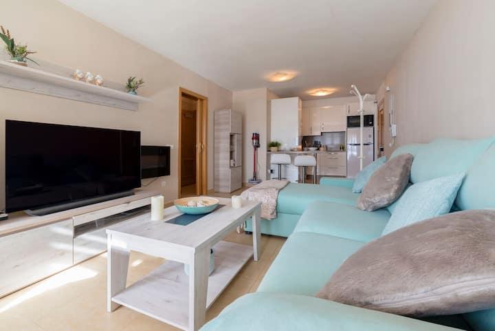 Bonito, luminoso, confortable apartamento