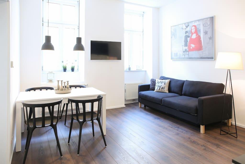 Urban design flat sch nbrunn apartments for rent in for Designer apartment vienna