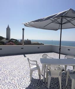 Stanza con bagno e terrazz sul mare - Porto Badino