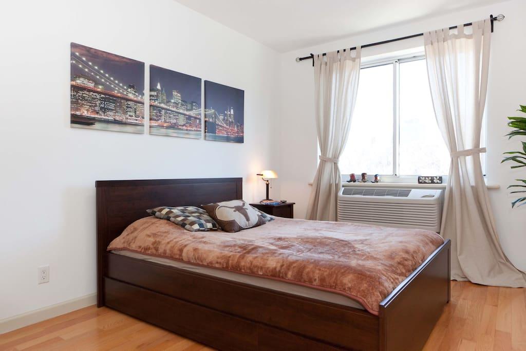 Spacious bedroom and private bath appartamenti in for Appartamenti in affitto new york city